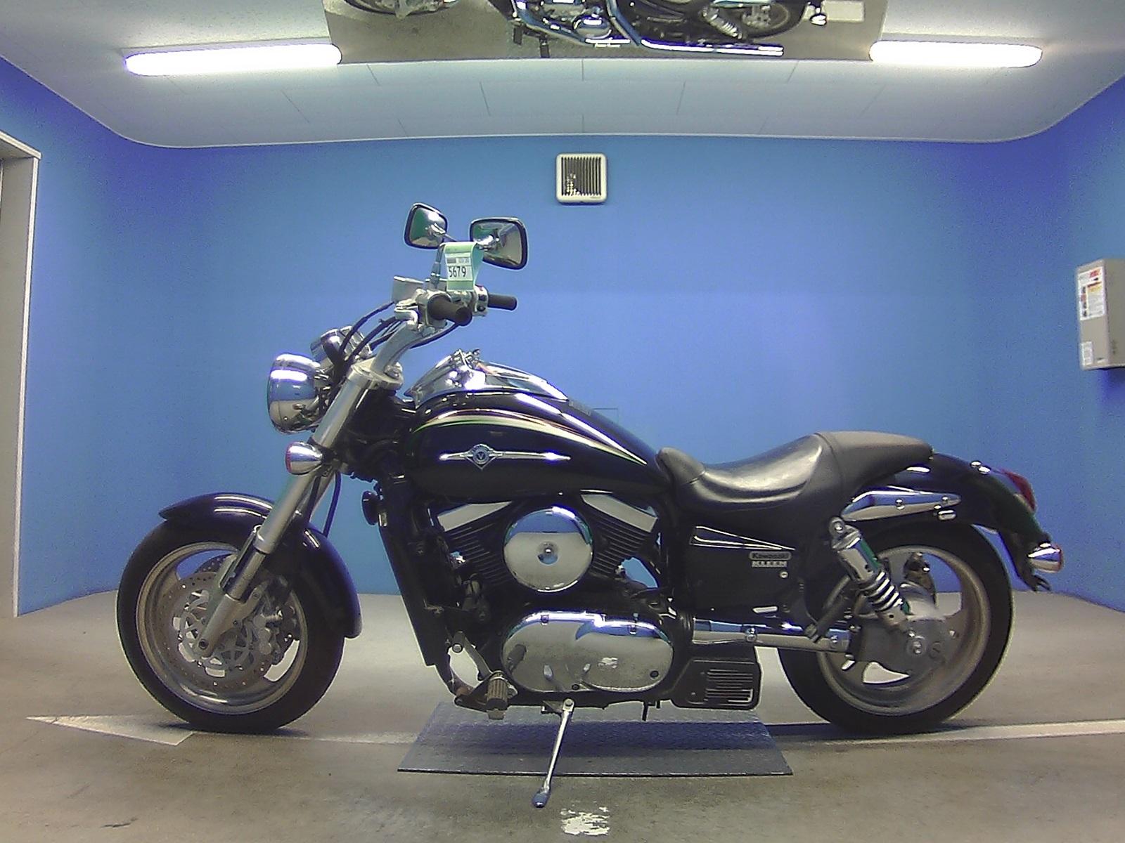 мотоцикл Kawasaki Vulcan 1500 Mean Streak